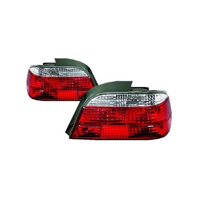 Feux arrières rouge/blanc Bmw E38 94-01