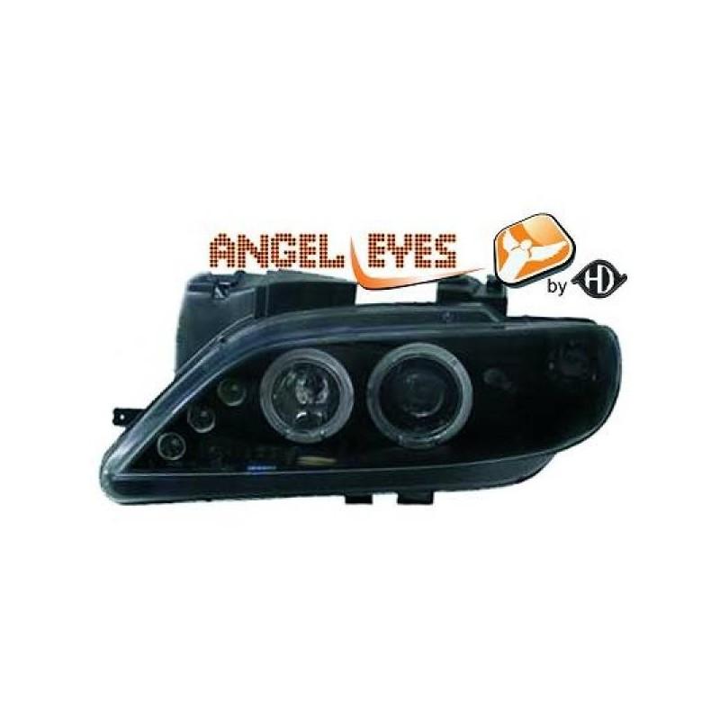 Phares angel eyes noir Citroen XSARA 97-99