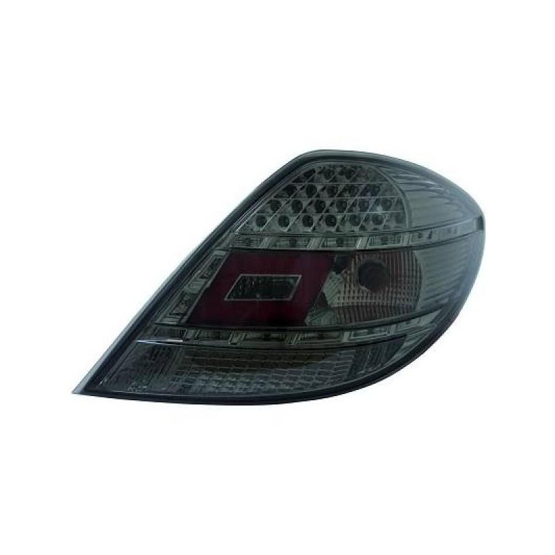Feux arrière LED Mercedes SLK R171 04-11 noir