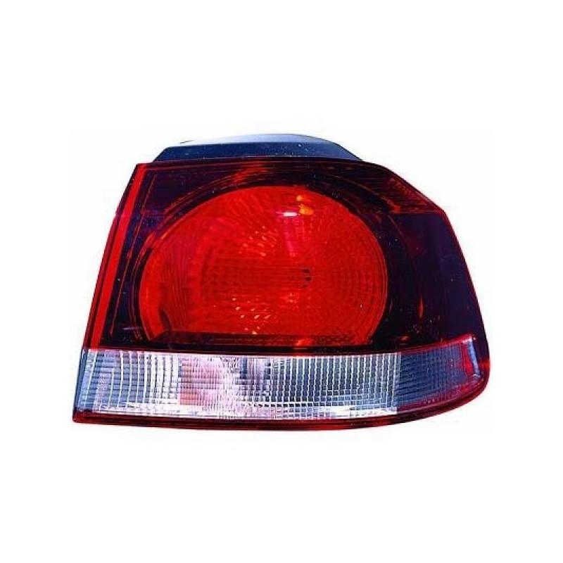 Feu arrière droit (PASSAGER) VW GOLF VI à partir de 2008 foncé