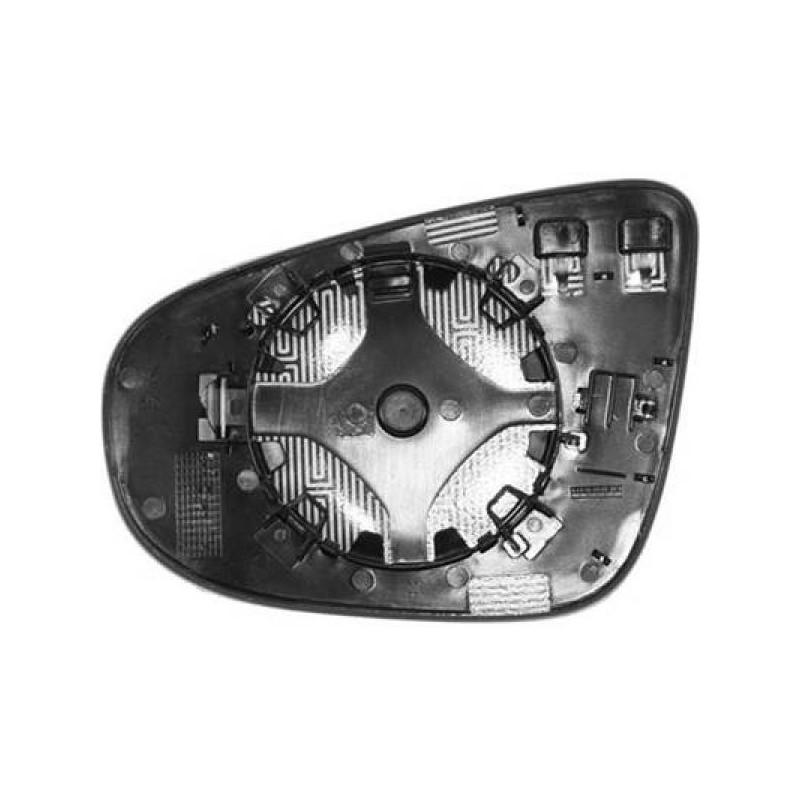 Verre Rétroviseur ext. droit (PASSAGER) VW GOLF 6 à partir de 2008