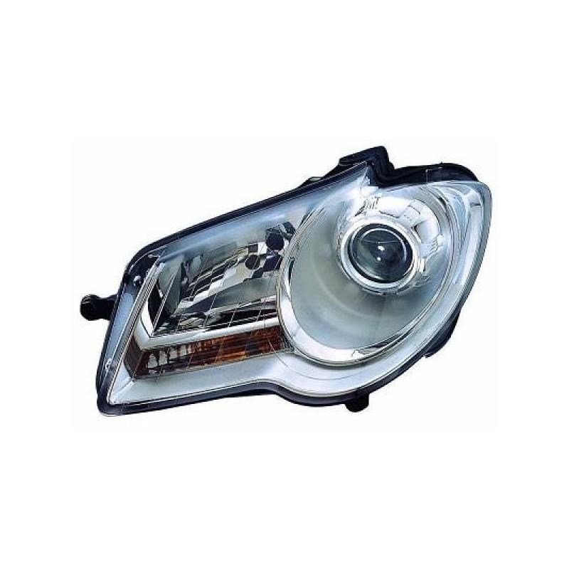 Phare droit (PASSAGER) VW TOURAN 2006 à 2010 chrome