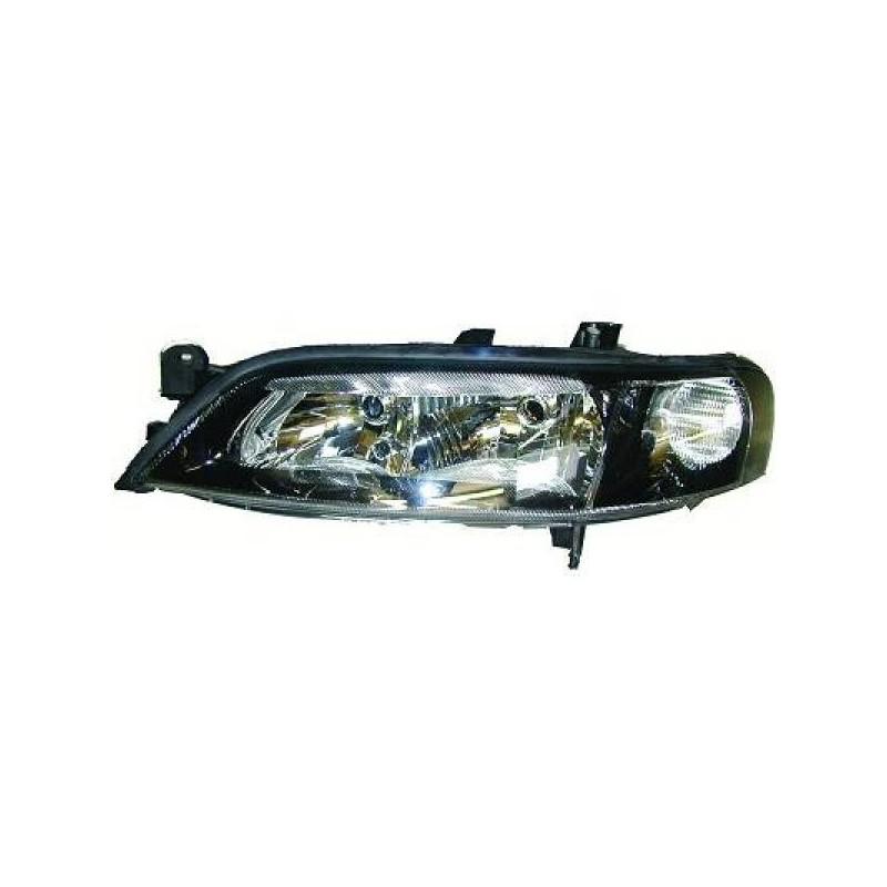 Phare design Droit noir Opel VECTRA 99-02