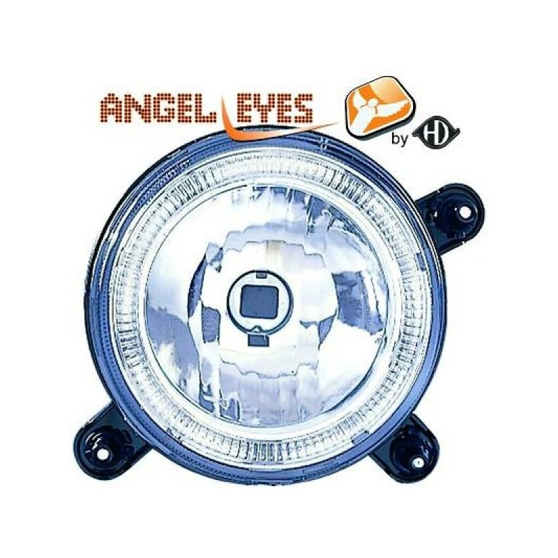 Phares angel eyes chrome Vw GOLF 74-91