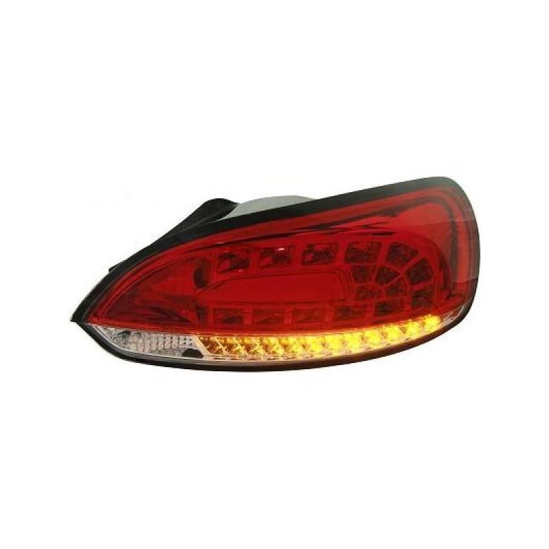 Feux arrière Vw SCIROCCO apres 2008 LED cristal/rouge/blanc