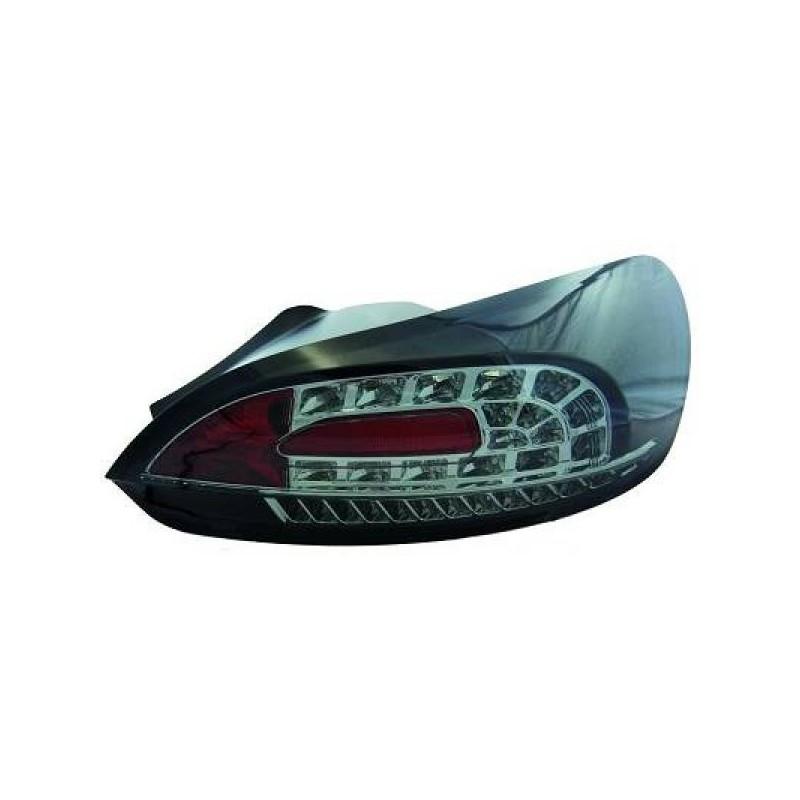 Feux arrière Vw SCIROCCO apres 2008 LED cristal/fumé-noir
