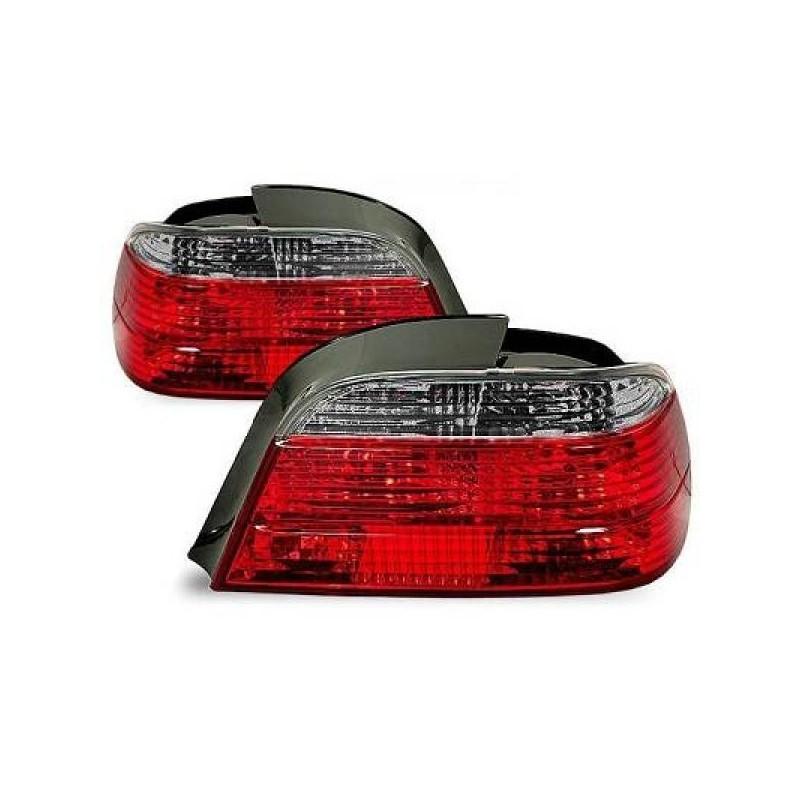 Feux arrières rouge/gris Bmw E38 94-01