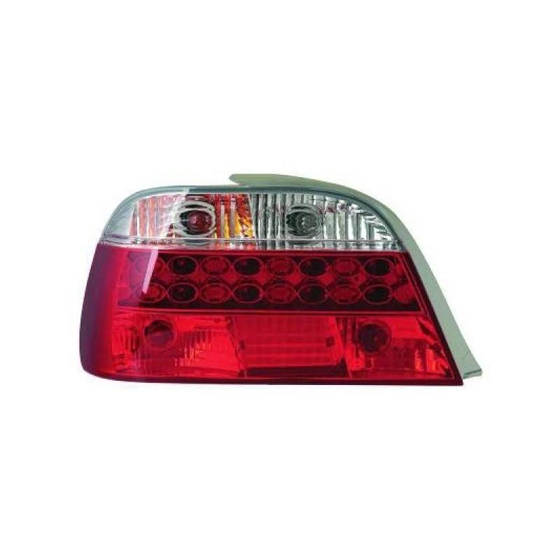 Feux arrières rouge/blanc LED Bmw E38 4-portes 94-01