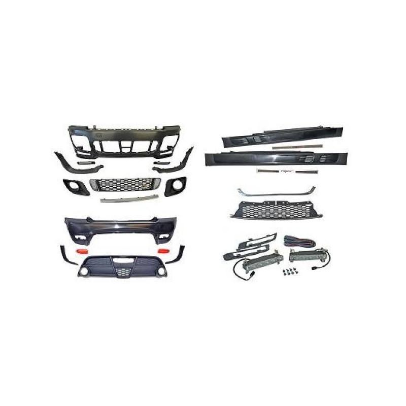Pare-chocs sport kit avant et arrière MINI R56 06-10
