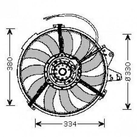 Motoventilateur AUDI A2 2000 à 2005