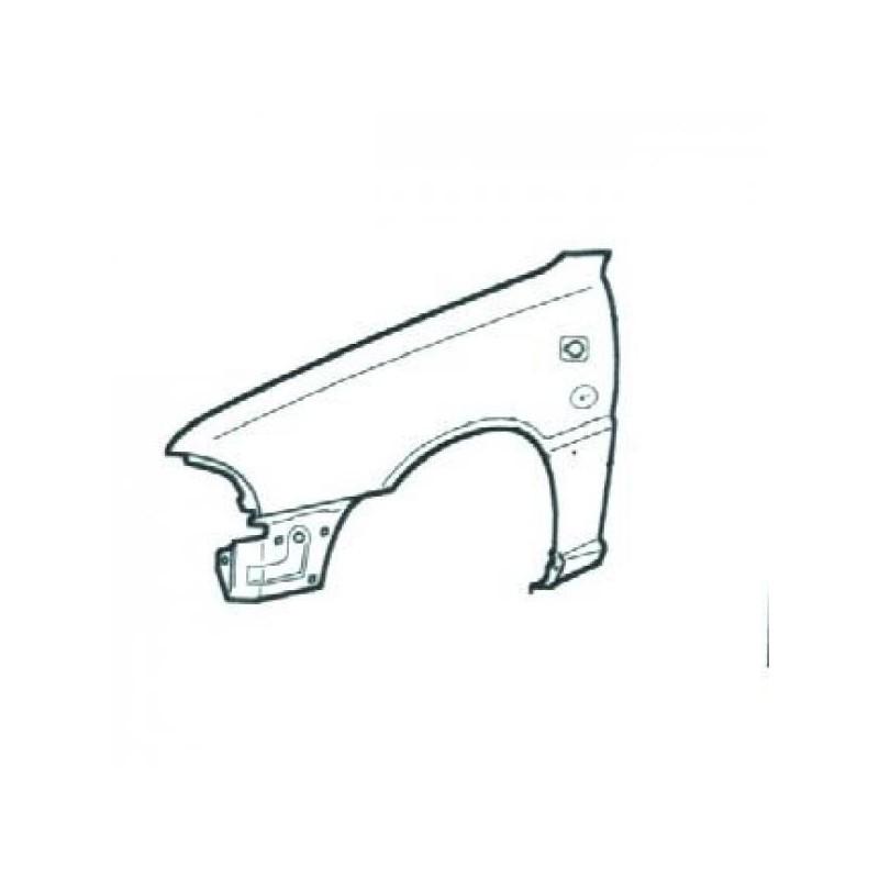Aile avant gauche (CONDUCTEUR) AUDI A4 1994 à 1996
