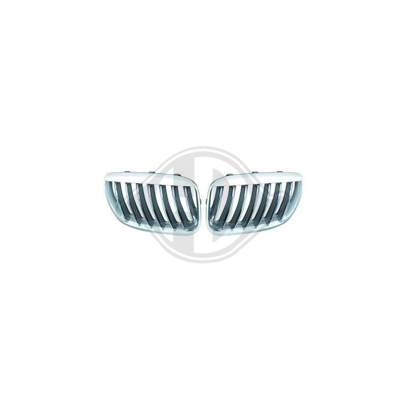 calandres design Bmw X5 03-07 chrome