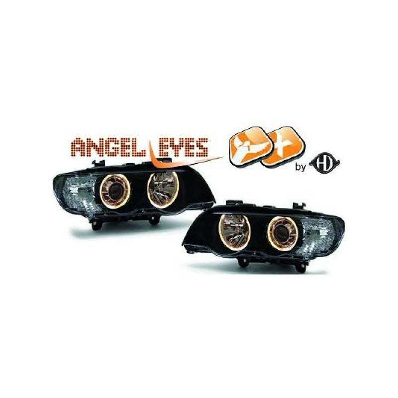 Phares angel eyes XENON BMW X5 99-03