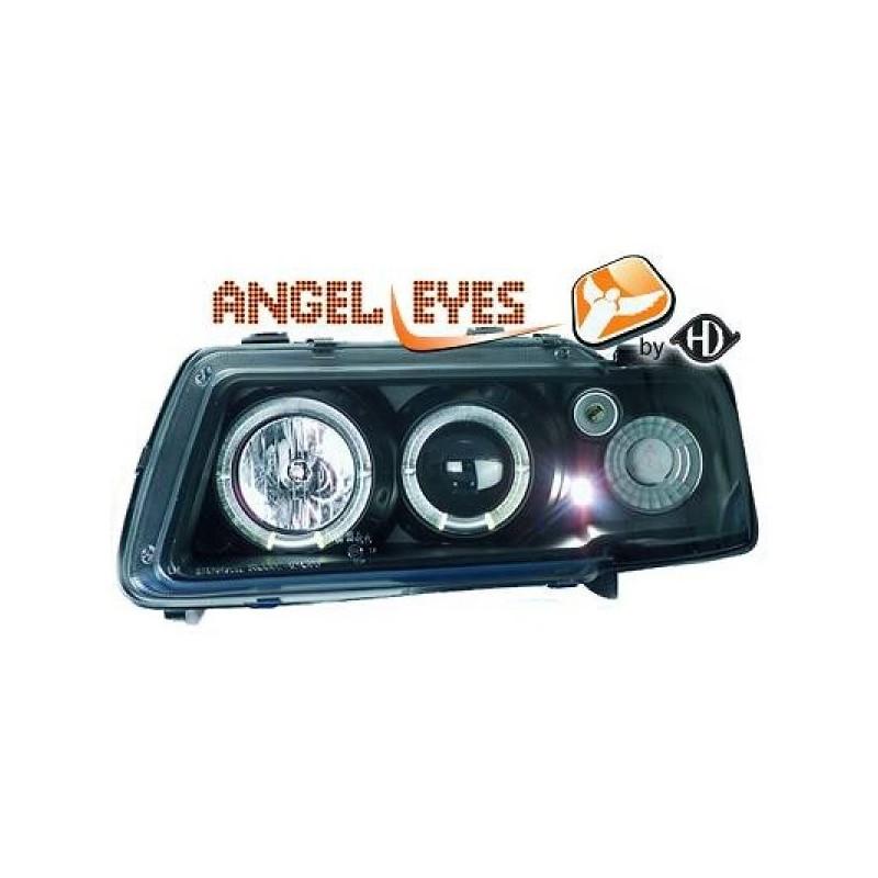 Phares angel eyes noir CELIS Audi A3 96-00