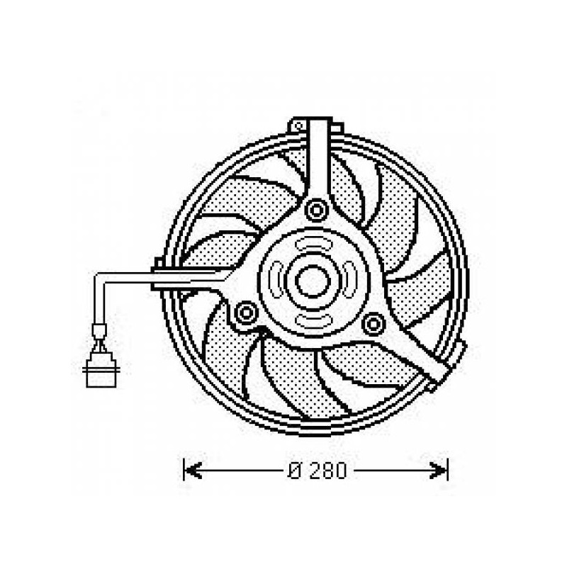 Motoventilateur AUDI A6 2000 à 2004