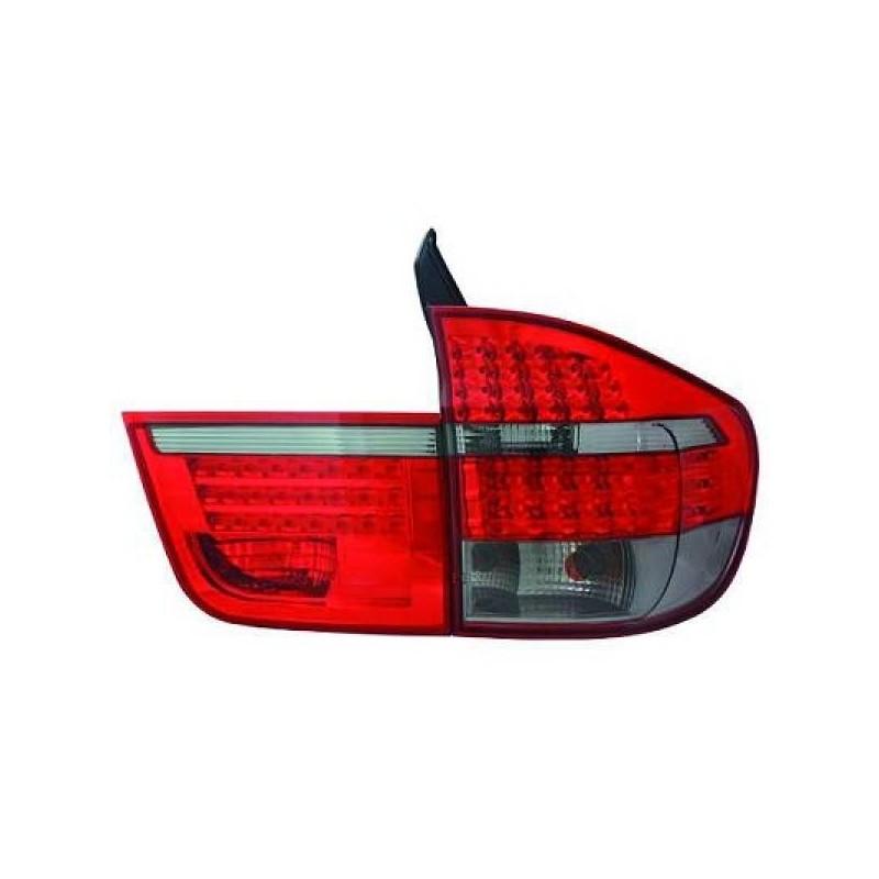 Feux arrière LED rouge-noir Bmw X5 apres 2007 LED