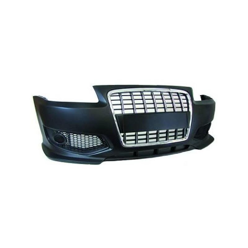 Pare-chocs design avant Audi A3 96-03 avec grille chromée