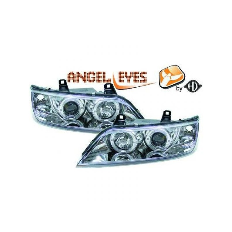 Phares angel eyes chrome CELIS Bmw Z3 96-05