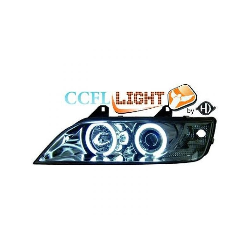 Phares angel eyes CCFL chrome Bmw Z3 96-02