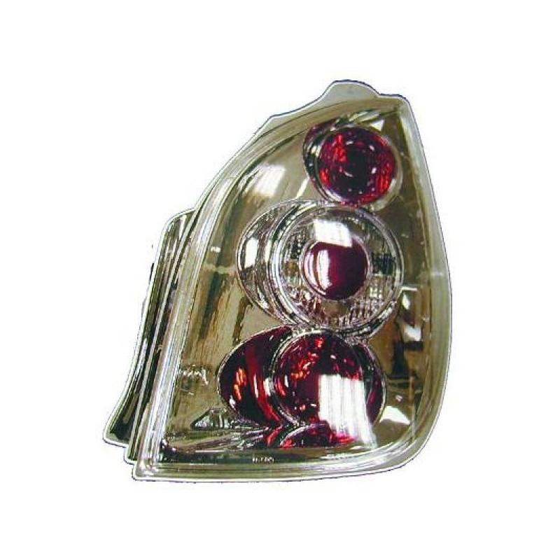 Feux arrières Citroen C2 03-08 cristal chrome