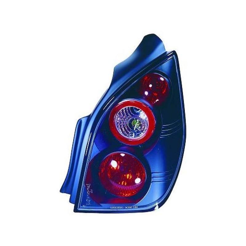 Feux arrières cristal noir Citroen C2 03-10