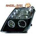 Phares angel eyes noir . Citroen C2 03-10
