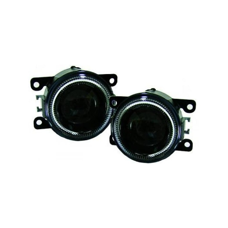 Phare anti-brouillard  lentille DE anneaux CCFL Citroen C4 04-09
