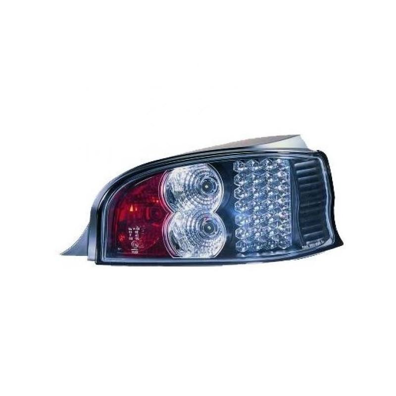 Feux arrières LED noir Citroen SAXO apres 1996