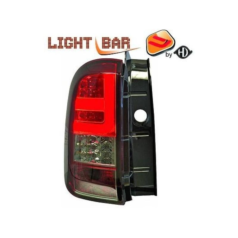 Feux arrière Dacia DUSTER apres 2011 LED/cristal/rouge-fumé