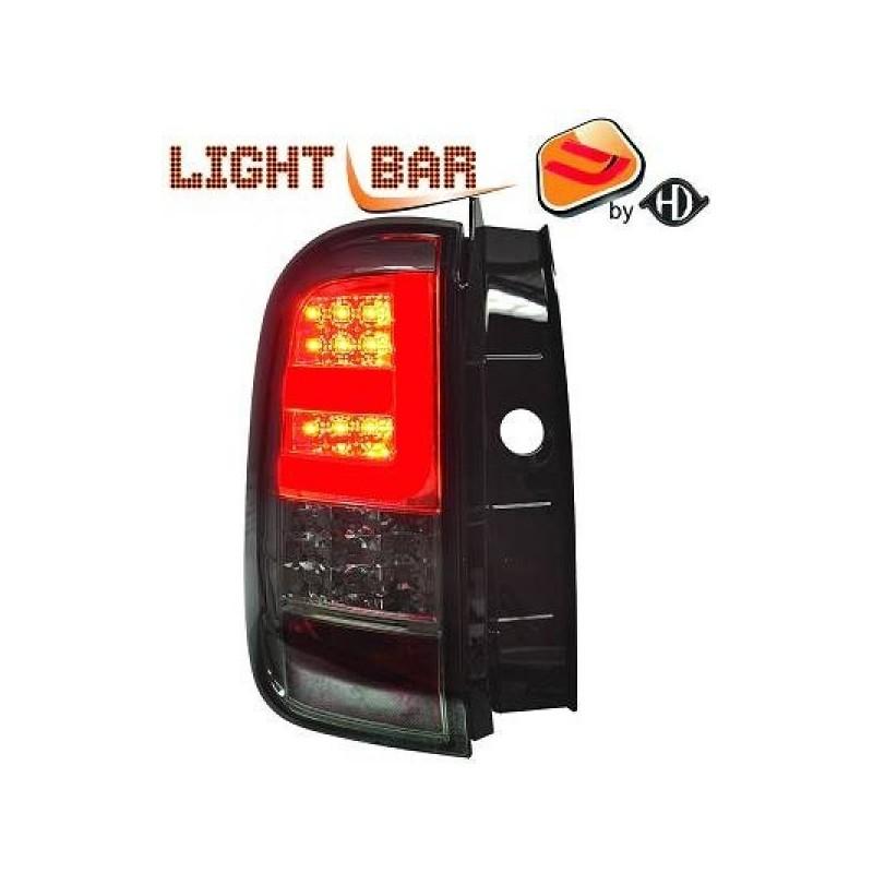 Feux arrière Dacia DUSTER apres 2011 LED/cristal/fumé