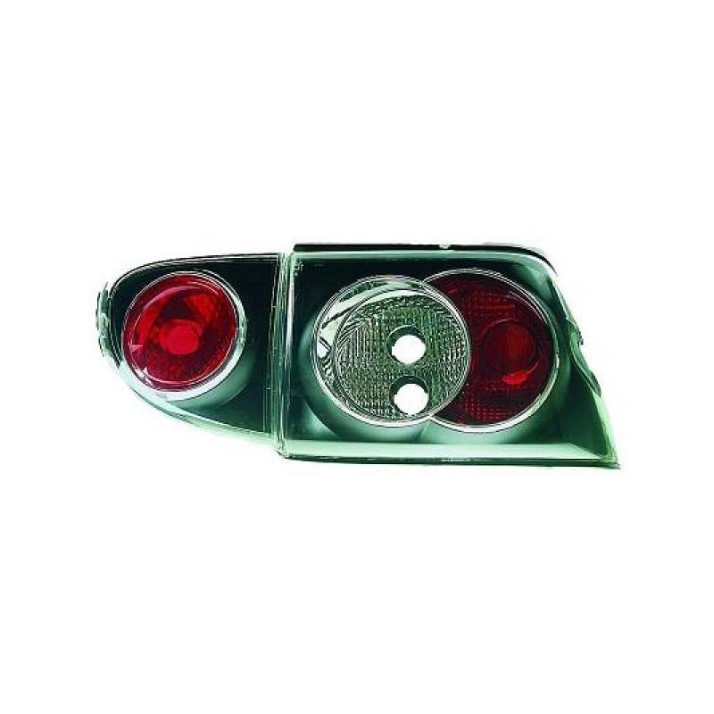 Feux arrières noir Ford ESCORT 3/5-portes 95-00