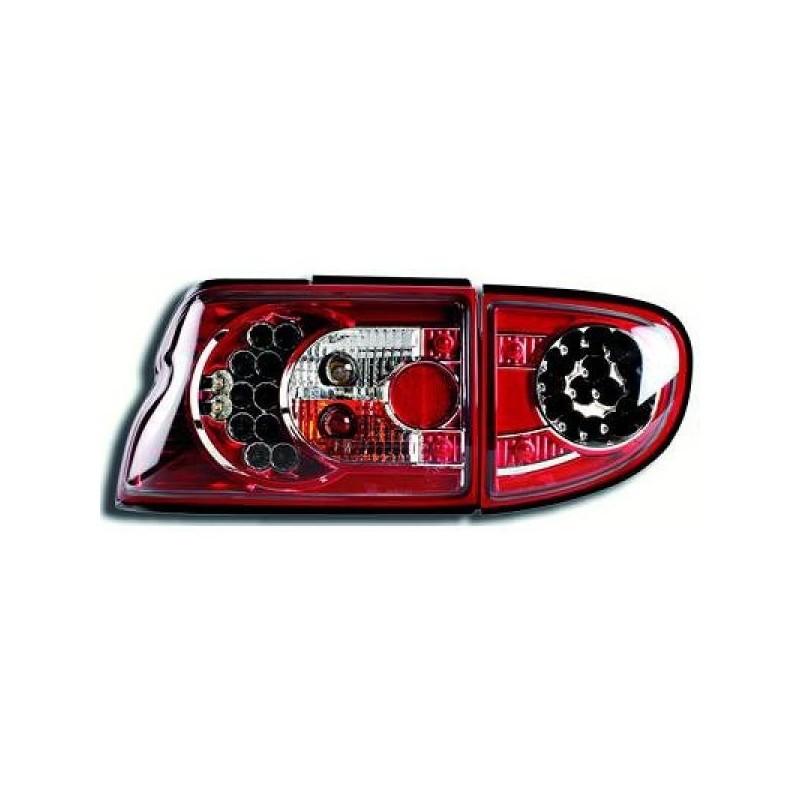 Feux arrières LED rouge Ford ESCORT 3-5-portes 95-99