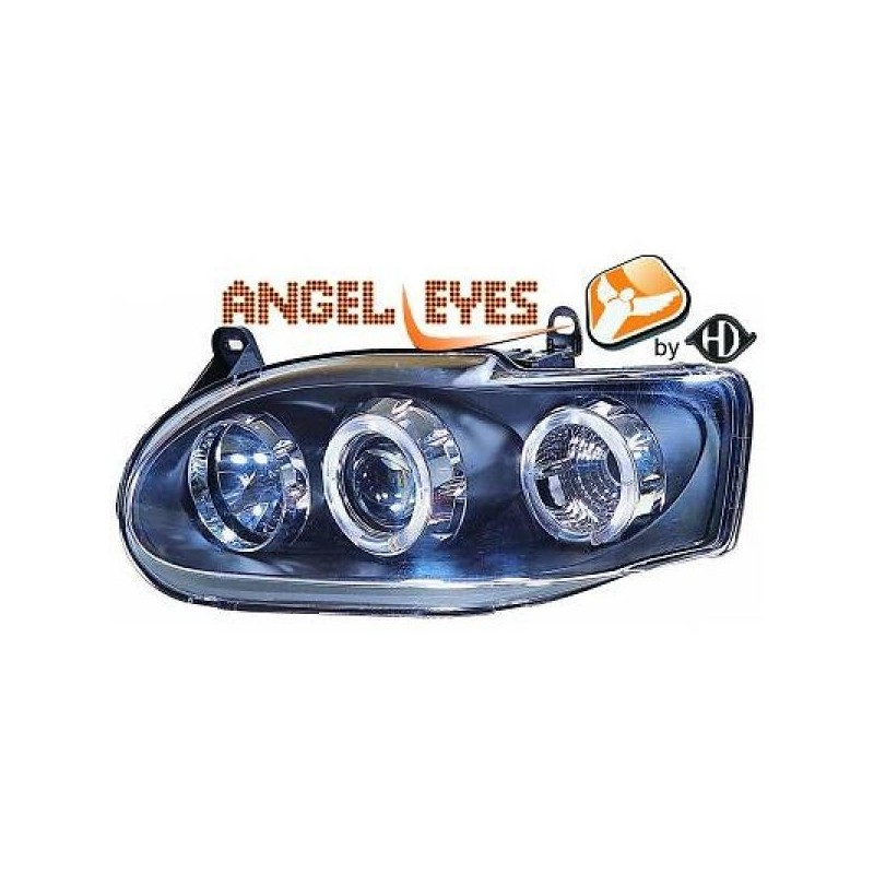 Phares angel eyes noir Ford ESCORT 95-99