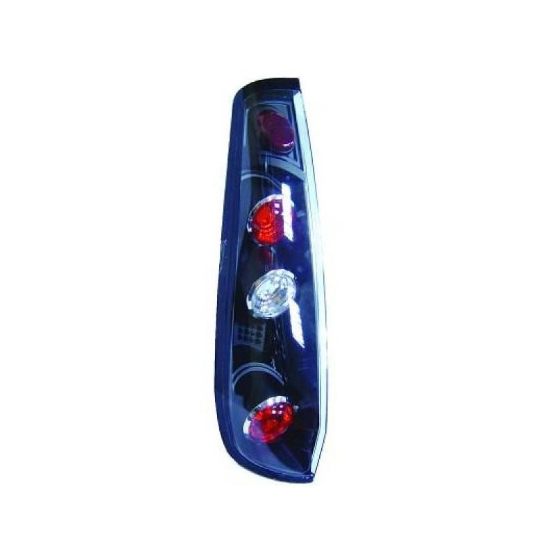 Feux arrières noir Ford Fiesta 3-portes 02-05