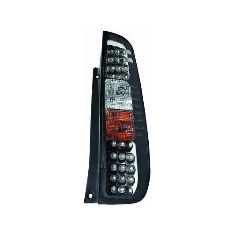 Feux arrières LED noir Ford FIESTA apres 2002