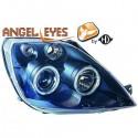 Phares angel eyes noir Ford FIESTA 02-05