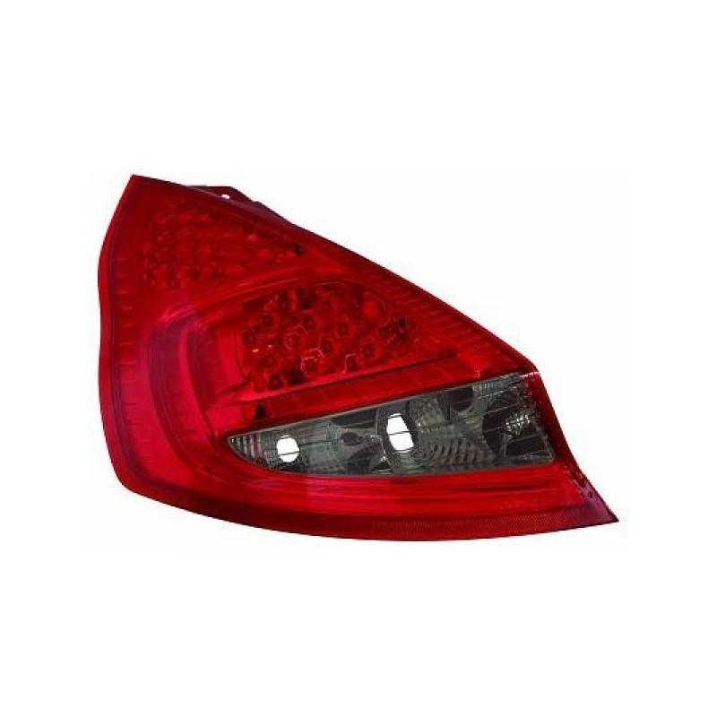 Feux arriere Ford FIESTA apres 2008 LED 3/5-portes rouge/noir