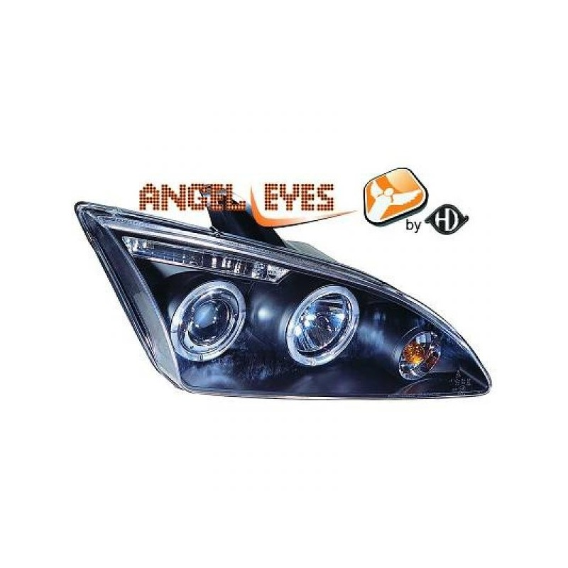 Phares angel eyes noir Ford FOCUS 04-08