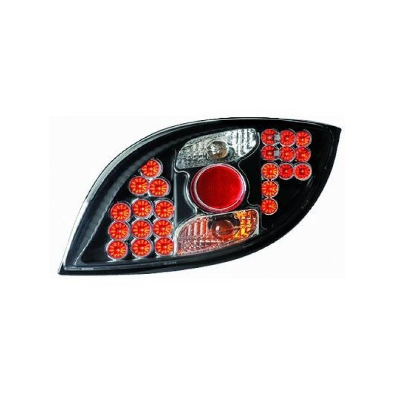 Feux arrières LED noir Ford KA apres 1996