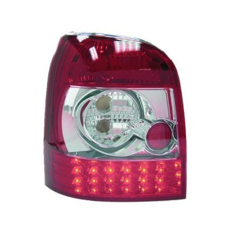 Feux arrières rouge/blanc LED Audi A4 BREAK 94-00