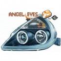 Phares angel eyes noir Ford KA apres 1997
