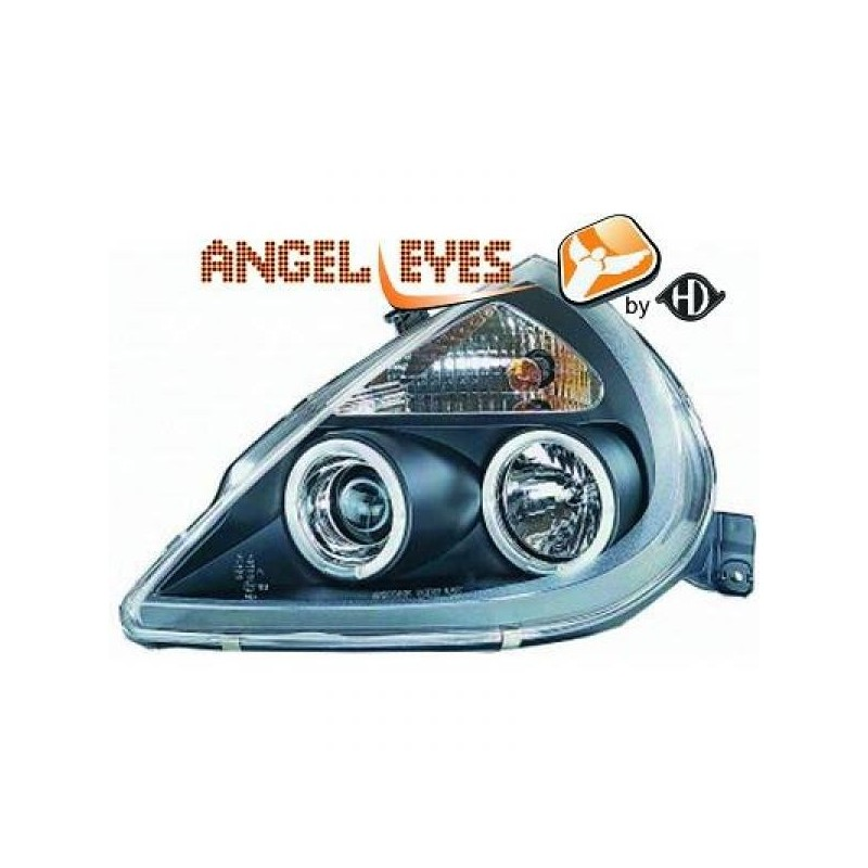 Phares angel eyes noir Ford KA apres 1997