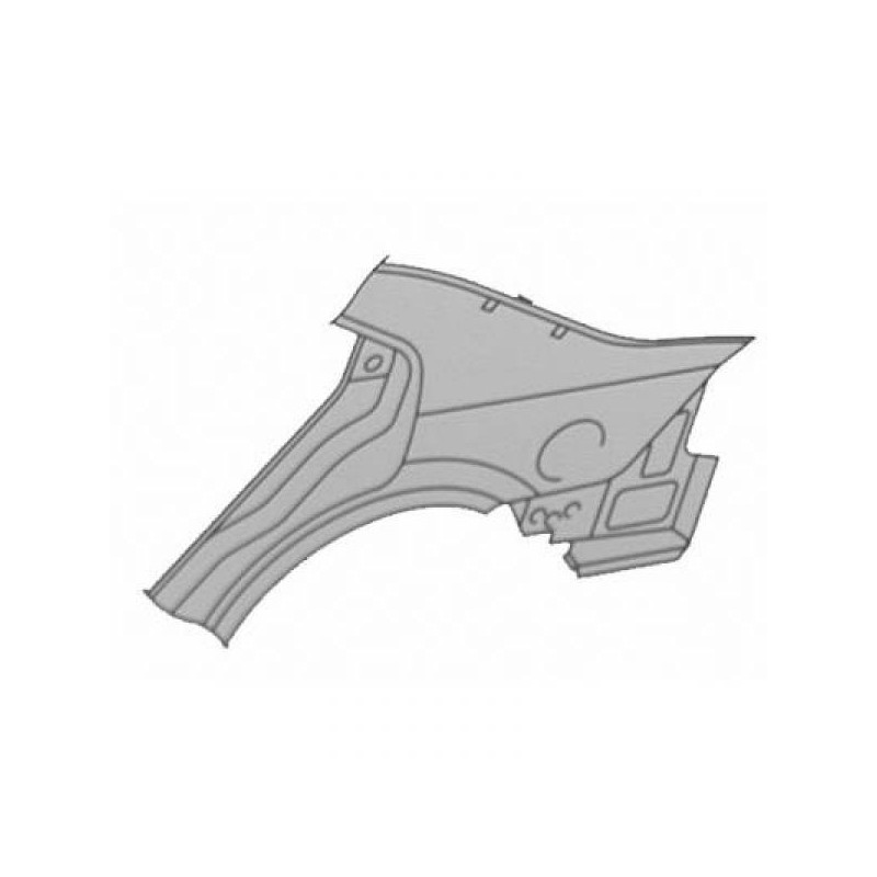 Aile arrière droit (PASSAGER) FORD MONDEO 2000 à 2007 5 à portes