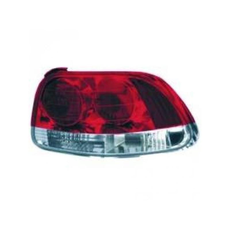 Feux arrières rouge/blanc Honda DEL SOL apres 1992