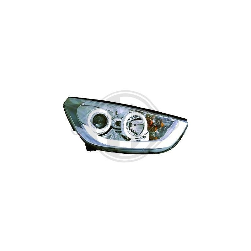 Phares devil eyes Hyundai IX35 apres 2010 chrome