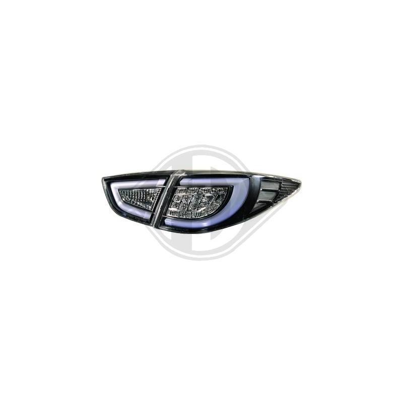 Feux arrières LED hyundai iX35 apres 2010 LED cristal/fumé-noir