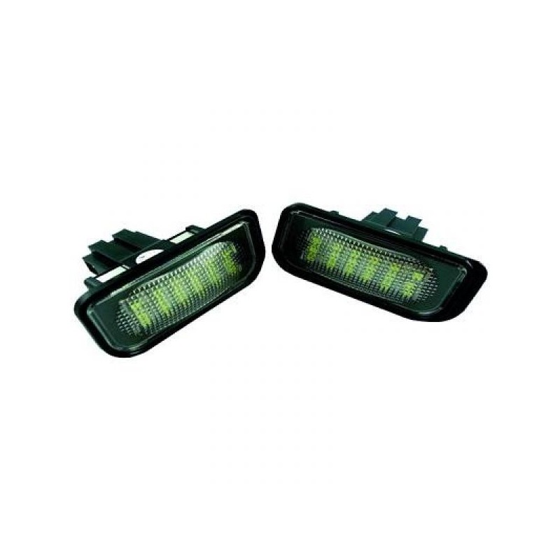 Eclairage plaque d'immatriculation LED MERCEDES W203 Berline 00-07