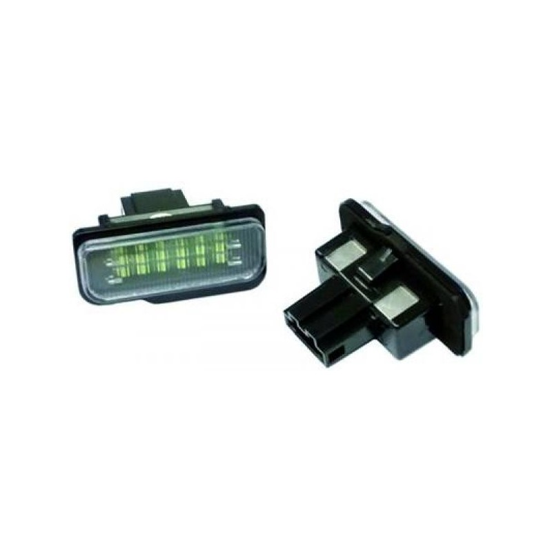 Eclairage plaque d'immatriculation LED MERCEDES W203 Break 00-07
