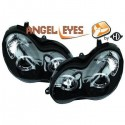 Phares angel eyes noir Mercedes W203 00-07