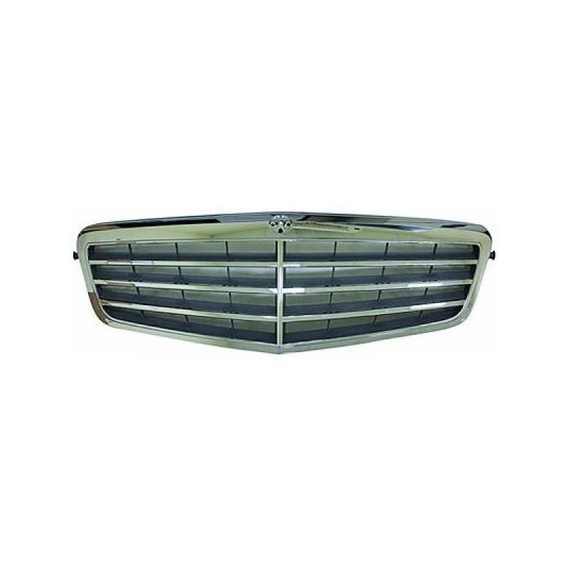 Calandre complète MERCEDES W212 à partir de 2009 chrome/gris